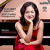 シューマン:ウィーンの謝肉祭の道化芝居「幻想的情景」op.26 他 (Schubert : Sonata A-dur , Schumann : Faschingsschwank / Hisako Kawamura) (SACD Hybrid)