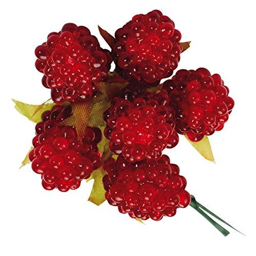 [해외]대지 농원 꽃 자재 순수 라스베리 (12 병) 레드 DO23710-300/Earth farmer Flower material Pure raspberry (12 pieces) Red DO 23710-300
