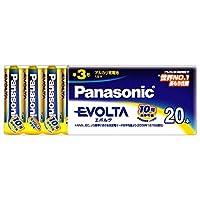 パナソニック アルカリ乾電池 単3形 MY&OUR EVOLTA LR6EJV/20SW