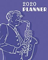2020 Planner: Daily Weekly Monthly Planner Yearly Agenda 8.5 x 11''   160 pages for Academic Agenda Schedule Organizer   Perfect for Planning and Organizing Your Home or Office