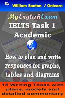 [Sauton, William]のIELTS Task 1 Academic: How to Plan and Write Responses for Graphs, Tables and Diagrams (English Edition)