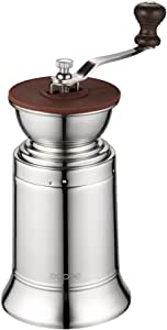 Ecooe Manual Coffee Grinder Stainless Steel Manual Grinder Ceramic Burr Coffee Mill for Consistent Fine Grind. by Ecooe