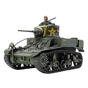 タミヤ 1/35 ミリタリーミニチュアシリーズ No.360 アメリカ軽戦車 M3 スチュアート 後期型 プラモデル 35360