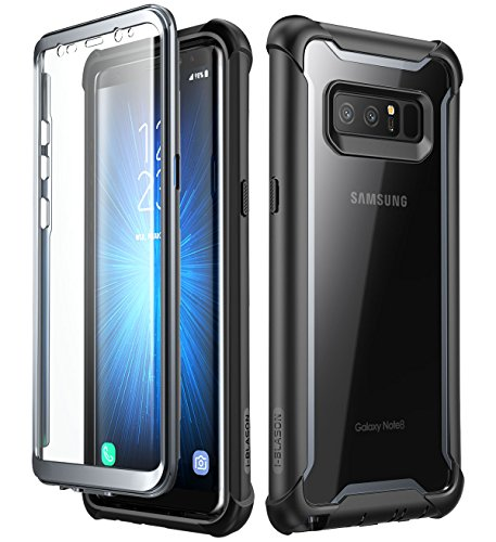 i-Blason Samsung Galaxy Note 8 ケース 液晶画面フィルム付き 全面保護 クリアケース [Ares Series]