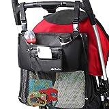 nain ベビーカーバッグ ベビーカー用バッグ ドリンクホルダー オーガナイザー 大容量 3Way ショルダーバッグ