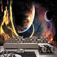 Wuyyii カスタム3D壁画3DステレオKtvの壁紙宇宙星雲スターホテルパーソナライズ壁紙天井壁画壁紙