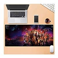 Zenghh 大型ゲーミングマウスパッド/マット拡張大型マウスパッドのためにコンピュータのデスクトップPCラップトップは31.5「/35.4」キーボードパッドデスクパッドで滑り止めラバーベース長方形のマウスパッドのマット (Color : M, サイズ : 800X300mm)
