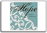 Hope Inspires Endurance - Motivational Quotes Fridge Magnet - ?????????