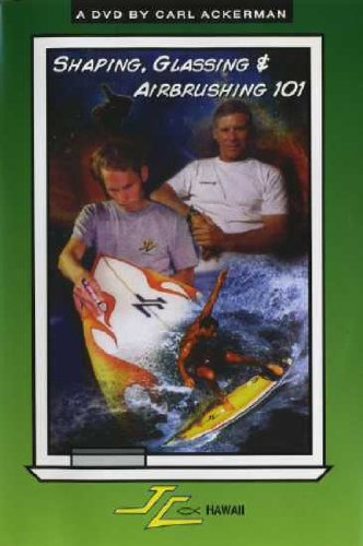 JC Hawaii 101 series compilation 2 DISK SET DVD (Shaping /Glassing/Airbrushing) 【サーフィン/SURF DVD 特価】(CVLD1087)