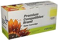 プレミアム互換機Inc。q6002arpc交換用インクHPプリンタ用トナーカートリッジ、イエロー