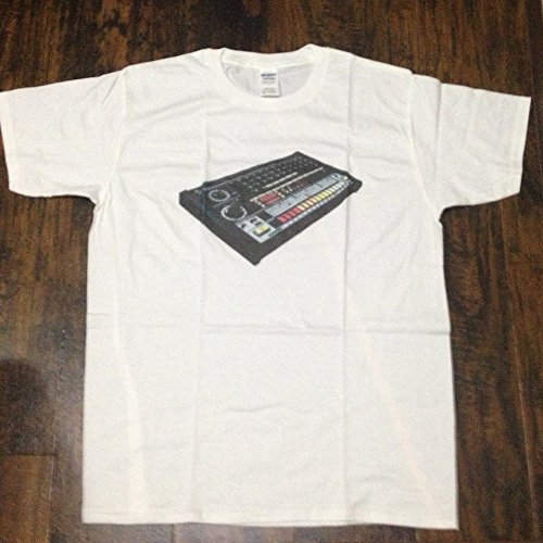 808 tee t-shirts Tシャツ TR-808 909 M whi...
