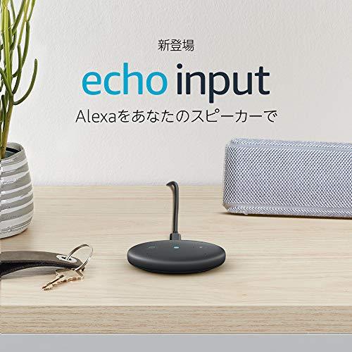 手持ちのスピーカーをAlexa化する「Amazon Echo Input」2,980円で発売開始