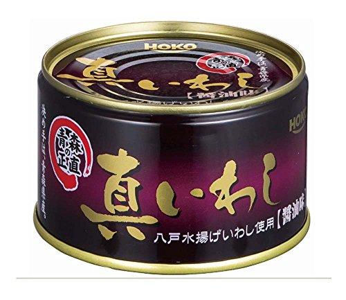宝幸 青森の正直 真いわし醤油味 200g×6個