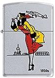 ジッポー Zippo 24385 1930s ウインディWindy Girl Chrome ジッポライター