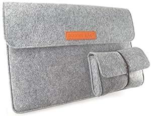 DOGGiE BAG(ドギーバッグ) 15.0-15.4インチ フェルトスリーブケース (付属品用収納ポーチ付き) TDB18-FM04JF004