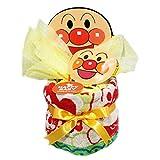おむつケーキ 出産祝い アンパンマン ミニサイズ パンパースS10枚 男の子 女の子