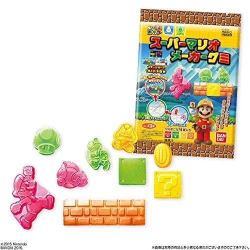 つくるおやつ スーパーマリオメーカーグミ 6個入りBOX(食玩)