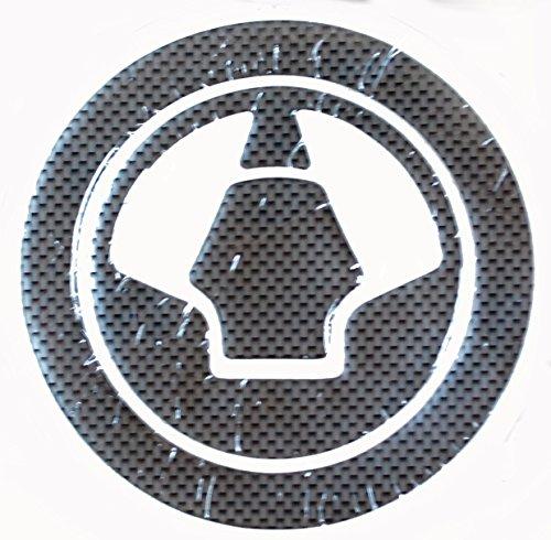 【 ザイルジャパン 】カーボン 調 タンクパッド  フューエル キャップ プロテクター  (Iタイプ)  【Iタイプ】  KAWASAKI ZX-6R-10R-12R-14RZZR1400 ZR1400 ZRX1200ダエグ Z1000 NINJA1000 ER-6n ER-6f / Ninja650R Ninja400R ER-4n