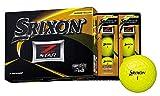 DUNLOP(ダンロップ) ゴルフボール SRIXON Z-STAR ゴルフボール 2019年モデル 1ダース(12個入り) プレミアムパッションイエロー