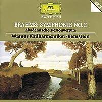 Brahms: Symphony No. 2 / Academic Festival Overture ~ Bernstein by BERNSTEIN / VIENNA PHIL ORCH (1995-03-14)