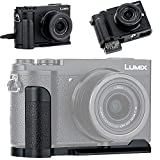 Kiorafoto ハンド グリップ Panasonic Lumix GX7MK3 GX7MK2 用 DMW-HGR2 互換 電池交換便利