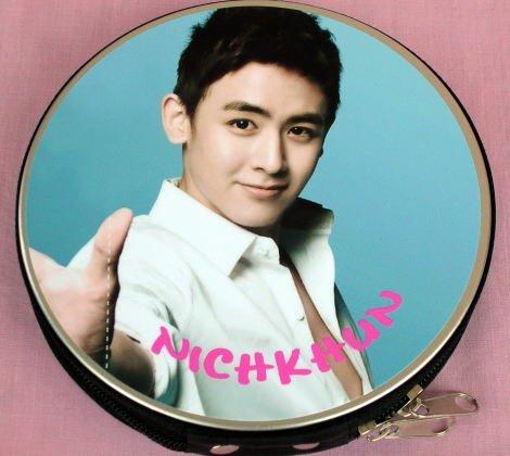2PM ツーピーエム ニックン 韓国製 CD DVD 収納ケース丸型 455NK