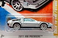 ホットウィール 2011 #018 バック トゥ ザ フューチャー タイムマシーン Stainless Silver Metallic [並行輸入品]