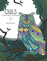 Owls Coloring Book for Grown-ups