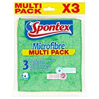[Spontex] Spontexマイクロファイバーパッド3パック - Spontex Microfibre Pads 3 Pack [並行輸入品]