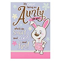 ホールマーク誕生日カードfor Auntie 'スマートand Cool '–Medium