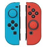【Nintendo Switch対応】Joy-Con専用カバー Mothca ソフトタイプ 耐衝撃 軽量 薄型シンプル グリップ性UP L R ネオンブルー ネオンレッド