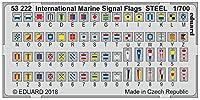 エデュアルド 1/700 艦船用国際信号旗 (ステンレス製)プラモデル用パーツ EDU53222