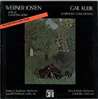 Werner Josten: Jungle & Canzona Seria / Gail Kubik: Symphony Concertante - Sealed