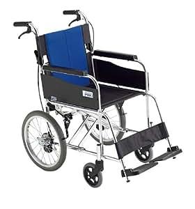ミキ BAL-2 標準型 介助型車いす ブルー 40