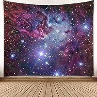 HBJP スタースペース宇宙タペストリー星空星雲寝具寝具テーブルクロスピクニックビーチシーツ タペストリー (色 : C, サイズ さいず : 230x180)