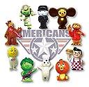 アメリカン キャラクター PVC フィギュア 10P Set NO.2 並行輸入 アメリカン雑貨