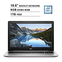 2019 Dell Inspiron 15 5570 15.6 Inch Touchscreen FHD Laptop (Inter 4-Core i7-8550U up to 4.0GHz, 8GB DDR4 RAM, 1TB HDD, Intel HD Graphics 620, Backlit KB, DVD, Win 10) (Renewed)