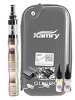 VAPE(ベイプ) X6 KAMRY社製 リキッド式 電子タバコ スターターキット おまけ付き(リキッド2個/取り替え用コイルユニット2個) 【正規輸入品】 (シャンパンゴールド)