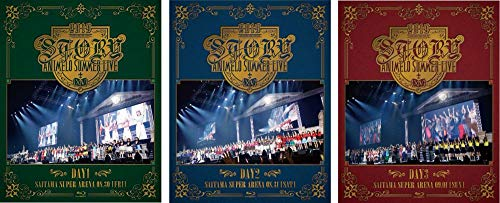 【Amazon.co.jp限定】Animelo Summer Live 2019 -STORY- DAY1+DAY2+DAY3(3巻セット)(同時購入特典:3巻収納ボックス+A4クリアファイル3枚セット付き) [Blu-ray]