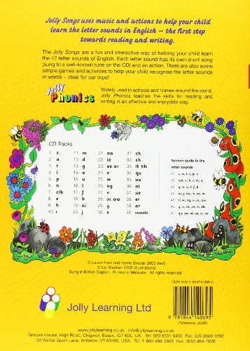 Jolly Songs (Jolly Phonics)