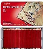 Derwent Pastel Pencils, 4mm Core, Metal Tin, 36 Count (0700307) [並行輸入品]