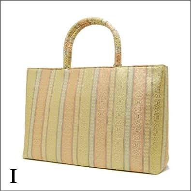 名物裂 金襴 02 和装 和柄 着物 ( きもの / キモノ ) 用 フォーマル ( 礼装 ) バッグ かばん 日本製生地 | A4 OK | (I)