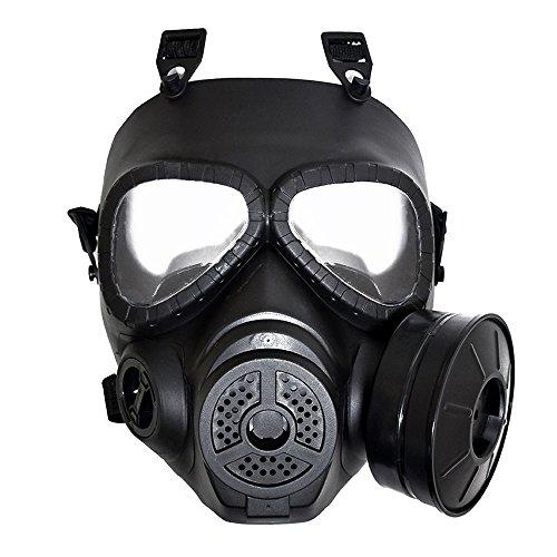 WIBERTA ガスマスク型 フルフェイスマスク コスプレ ...