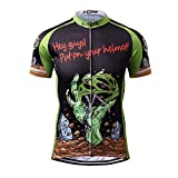 Thriller Rider Sports サイクルジャージ メンズ MTB男性自転車運動服装半袖 Mountain Bike Short Sleeve Cycling Jersey Bike Tshirt