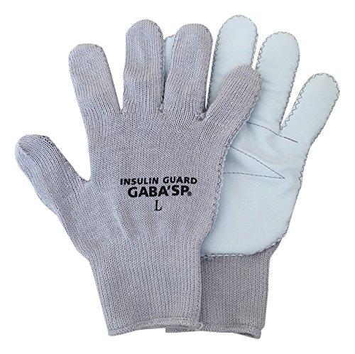 [해외]耐針 작업 장갑 인슐린 가드 GABA`SP-IG (L 사이즈 (24CM) 그레이)/Needle-resistant work gloves Insulin guard GABA`SP-IG (L size (24 CM) gray)