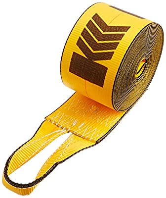 "Kinedyne (423030) 4"" x 30' Cargo Winch Strap with Sewn Loop"