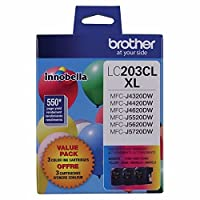 Brotherインクカートリッジmfc-j4620dw高イールドC / M / Y 3- Pack ( Includes OEM # lc203C、lc203m、lc203y ) ( 3x 550Yield )