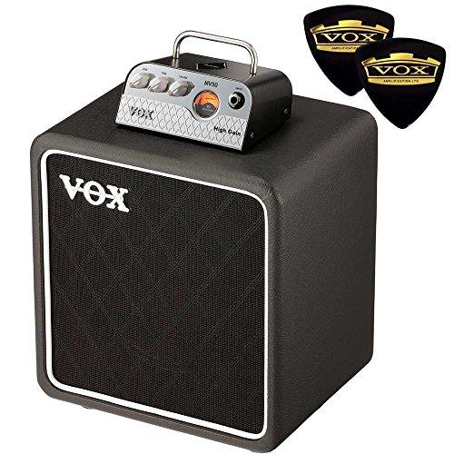 【限定VOXピック2枚付】VOX ヴォックス MV50-HG High Gain + BC108 新真空管 Nutube 搭載 アンプ・ヘッド + キャビネット