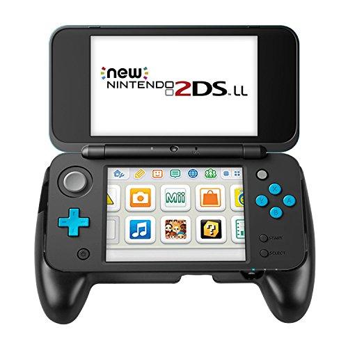 (ユニーケ)Younik Nintendo NEW 2DS LLコントローラ グリップ 背面ブラケット ハンドグリップ保護 ニンテンドー2DS LL 専用 アクセサリーキット