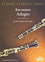 BAERMANN H.J. - Adagio Op.23 para Clarinete y Piano (Weston)